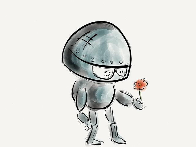 Charming robots